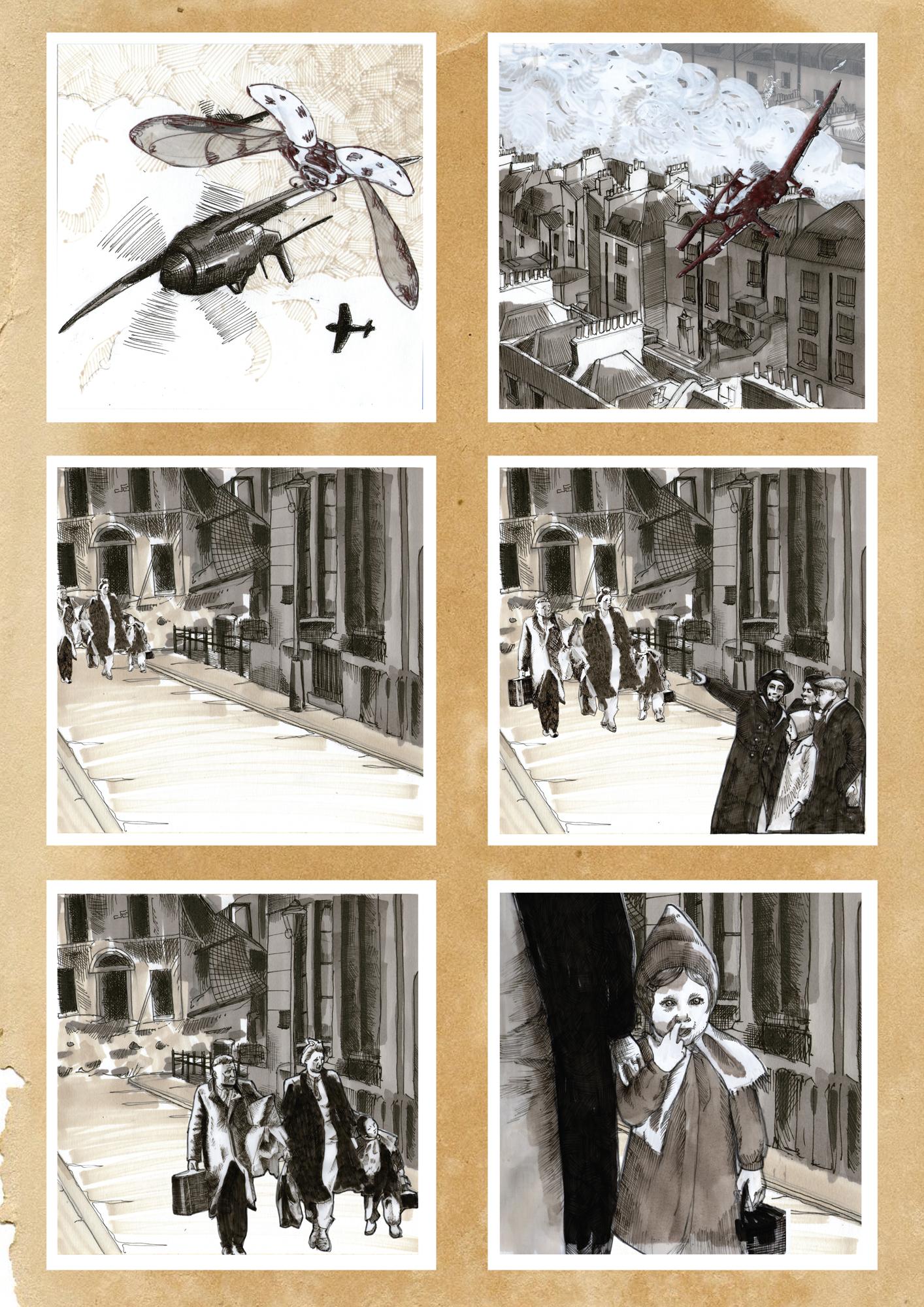 6 Panel Comic